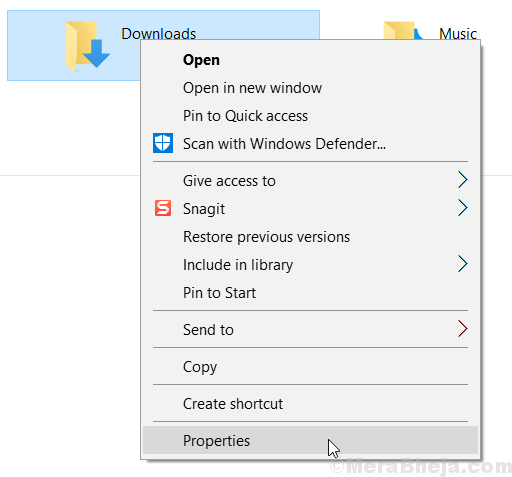 Properties Folder