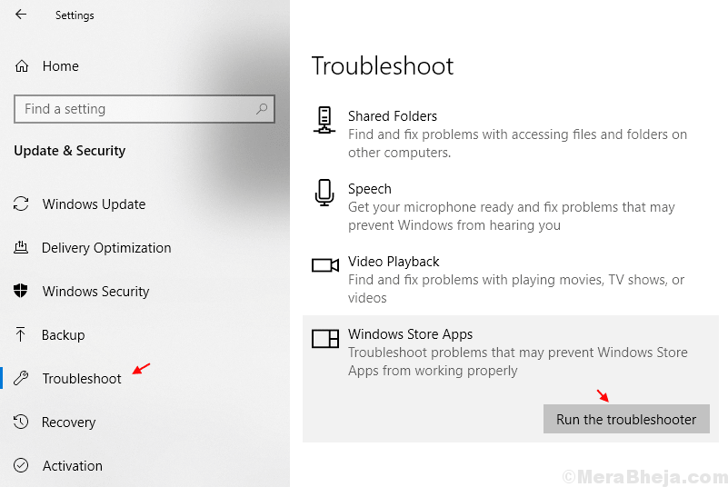 Windows Atore Troubleshooter Min