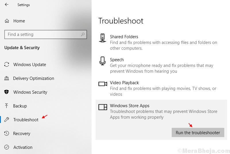 Windows Atore Troubleshooter Min