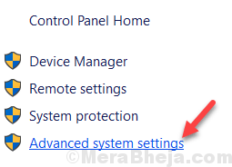 Advanced System Settings Min