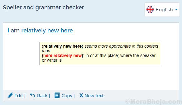 Spell Checker Online