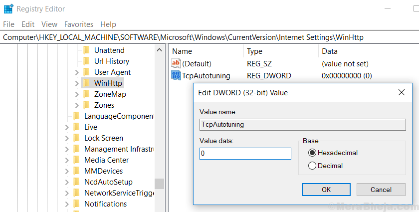 How to Enable / Disable auto tuning Feature in windows 10