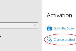 Activation Change Product Key Min