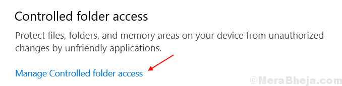 Manage Controlled Folder Access Settings Min