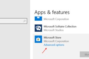 Microsoft Store Advanced Options Settings Windows 10 Min (1)