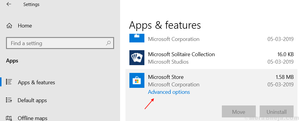 Microsoft Store Advanced Options Settings Windows 10 Min (1)
