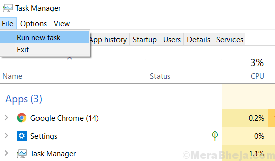 New Task Manager Min