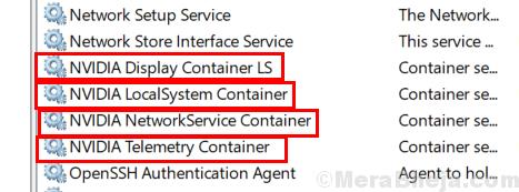 Nvidia Services Min