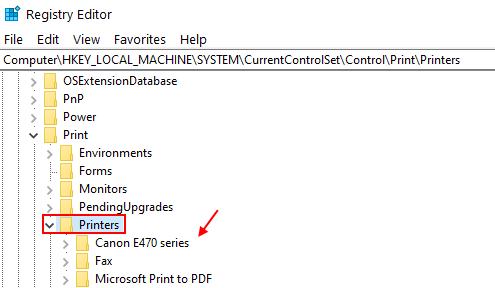 Printers Delete Old Min