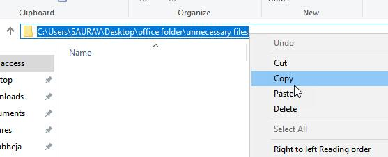Copy Path Folderr