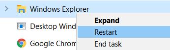 Explorer Restart
