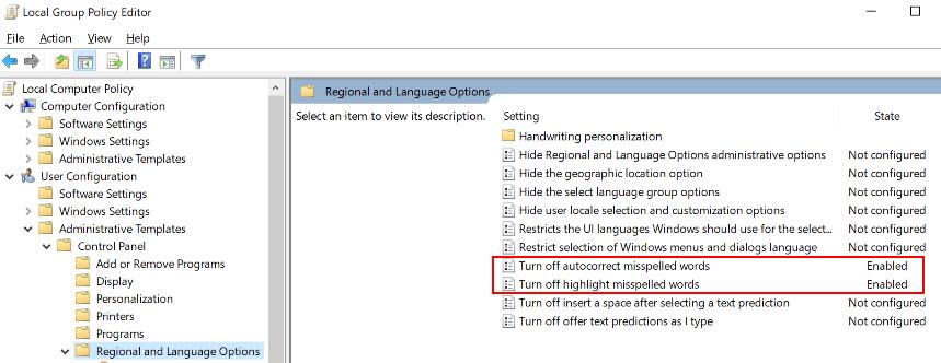 Gpedit Autocorrect Off Min