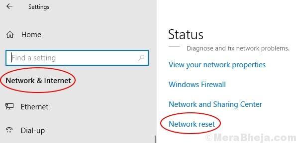 Network Reset Min