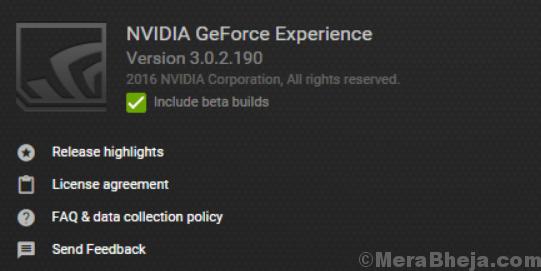 Nvidia Geforce Experience Min
