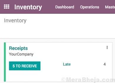 Odoo Inventory Min