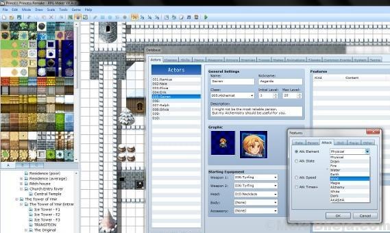 10 RPG Maker VX Ace Download 2D Top Down t
