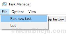 Task Manager New Task Min