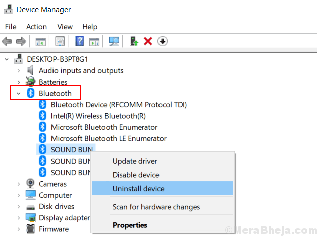 How to Forcefully Remove a Bluetooth Device in Windows 10