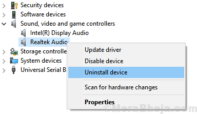Uninstall Device 1 Min