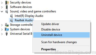 Uninstall Device 1 Min