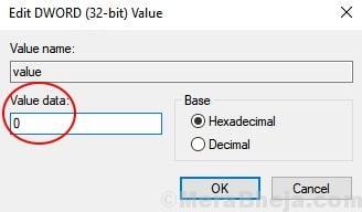 Value Regedit Data Modify Min