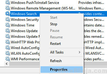 Windows Search Properties Min