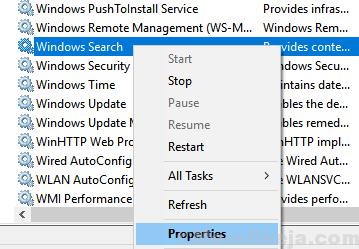 Windows Search Properties Min
