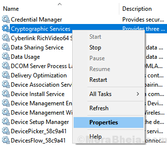Cryptographic Services Min