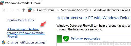 Allow An App Feature Through Windows Defender Firewall Min