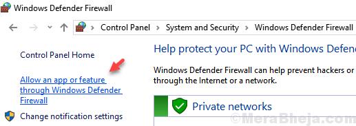 Allow An App Feature Through Windows Defender Firewall Min