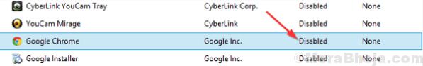 Chrome Disable Startup Min