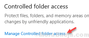 Manage Controlled Folder Access Min