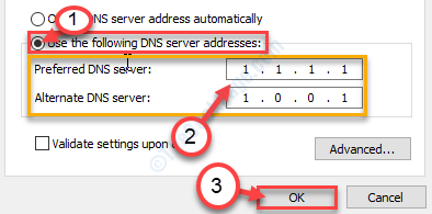Preffered Dns Server Ok