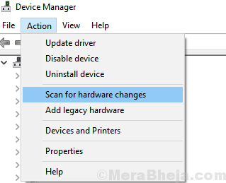 Scan Hardware Changes Min