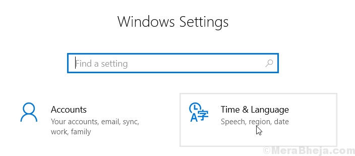 Time Language Settings Min