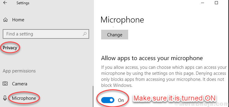 Turn On Microphone Allow App Min