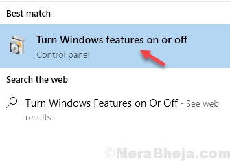 Turn Windows Feature On Off Min