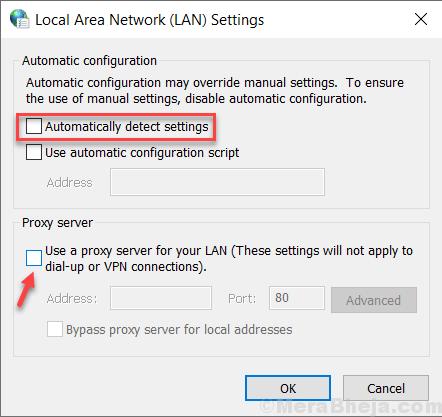 Use A Proxy Server Min