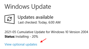 View Optional Updates Min (1)