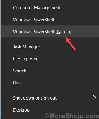 Windows Powershell Admin Min