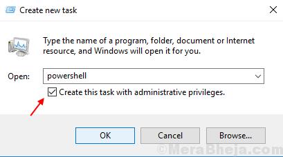 Create Task With Admin Priviledge Min