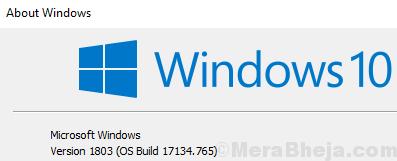 Microsoft Windows Version Min