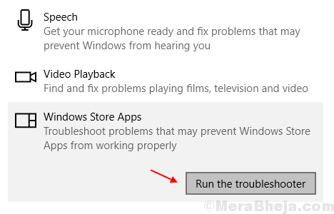 Windows Store=troubleshooter Min