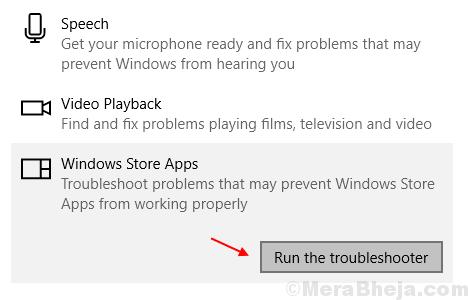 Windows Store=troubleshooter Min