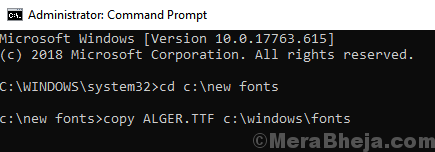 Cmd Copy Font Command Min