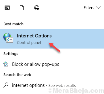 Internet Options Min