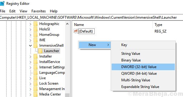 Launcher Dword 32 Bit New Key 1 Min