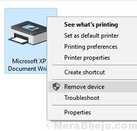 Remove Microsoft Xps Document Writer Min