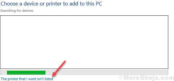 The Printer That I Want Is Not Listed Min