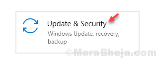 Update & Security Min